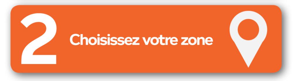 étape 2 : Choisissez votre zone - Felicitta Parc, stationnements et parking à Sète