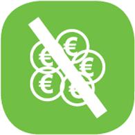 icône pas besoin de monnaie - Felicitta Parc, stationnements et parking à Sète