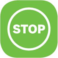 icône stop - Felicitta Parc, stationnements et parking à Sète